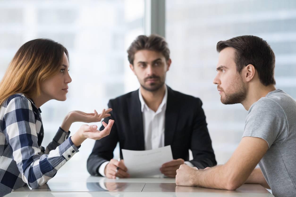couple avocat procédure divorce